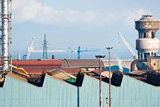 Free Power Plant In Piombino , Italy. Stock Image - 4728611