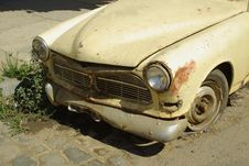 Free Old Car In Valparaiso, Chile Stock Photography - 4728912