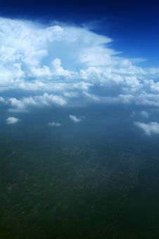 Free Clouds - View From Flight Stock Photo - 4728940