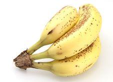 Free Ripe Bananas Royalty Free Stock Image - 4729126