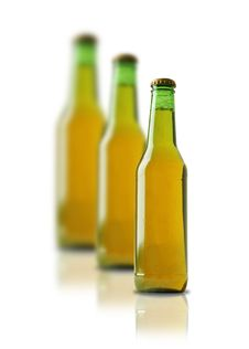 Free 3 Bottles In A Row Royalty Free Stock Image - 4729706