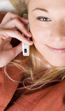 Free Smiling Female Stock Image - 4729851