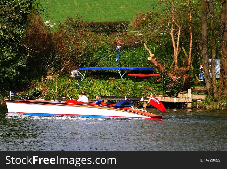Boat on the Thames