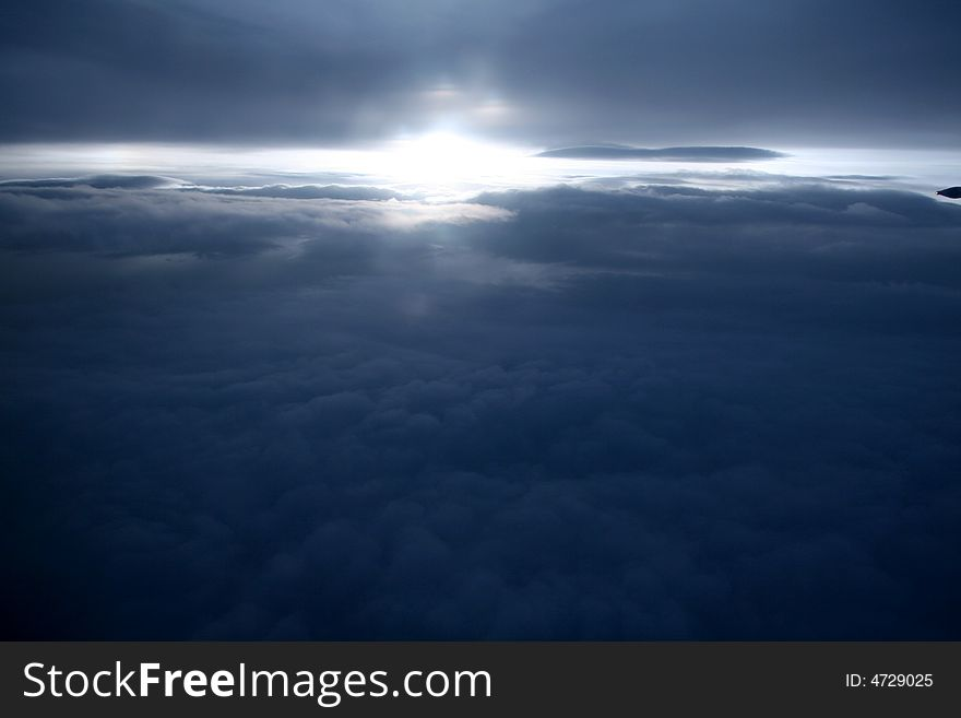 Clouds - View from Flight