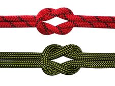 Free The Reef (Square) Knot Royalty Free Stock Photos - 4730428