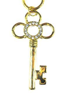 Free Beautiful Key With Diamond Stock Photography - 4730762
