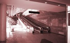 Business Airport, Madrid, Spain Royalty Free Stock Photography
