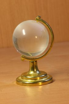 Free Gold And Glass Globe Royalty Free Stock Photo - 4731875