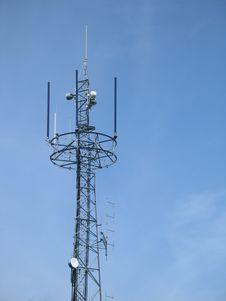 Free Communication Tower Stock Image - 4732621