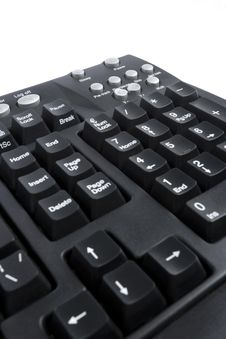 Free Black Keyboard Royalty Free Stock Photo - 4732705