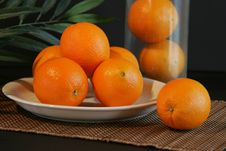 Free Fresh Oranges Royalty Free Stock Photos - 4733318