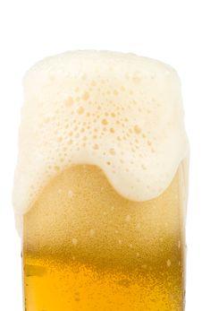 Free Fresh Foamy Beer Stock Photos - 4734013