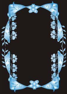 Free Blue Frame Stock Image - 4734241