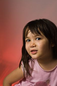 Free Young Girl Looking Shy Royalty Free Stock Photos - 4734368