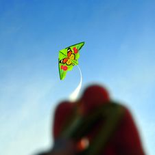Free Hand And Kite Royalty Free Stock Images - 4734909