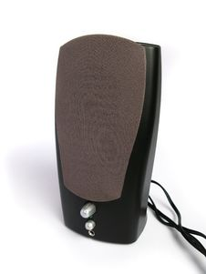 Free Black Computer Speaker Royalty Free Stock Photography - 4734977