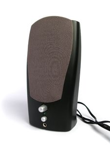 Free Black Computer Speaker Royalty Free Stock Photo - 4734985