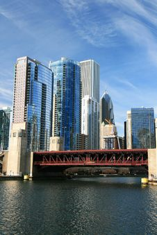 Free The High-rise Buildings In Chicago Royalty Free Stock Photography - 4735087