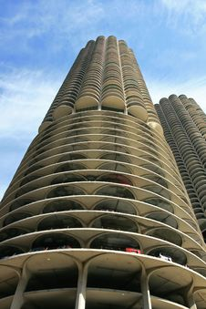 Free The High-rise Buildings In Chicago Royalty Free Stock Image - 4735096