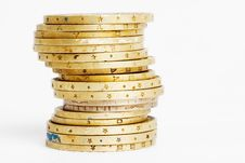 Free Golden Coins Royalty Free Stock Photo - 4735445