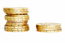 Free Golden Coins Stock Photography - 4735452