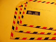 Free Air Postal Envelopes Stock Images - 4735464