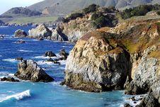 Free Rocks Along The Coast Stock Images - 4735684