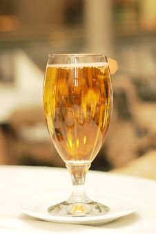 Free Glass Of Beer On Table Royalty Free Stock Photos - 4736768