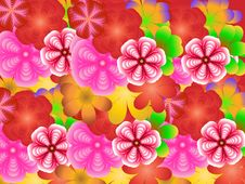 Free Flower Background Stock Photography - 4737222
