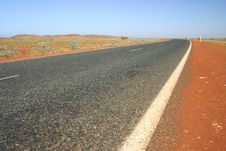 Australian Road Royalty Free Stock Photos