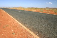 Australian Road Royalty Free Stock Images