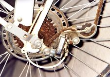 Free Bicycle Transmission Royalty Free Stock Image - 4738546