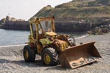 Free Beach Tractor Stock Photo - 4738570