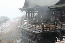 Free Fog Of Kiyomizu-dera Stock Photography - 4738702