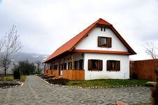 Old German Farm House Royalty Free Stock Photography
