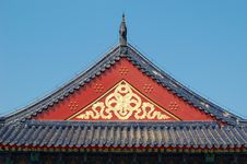 Free Roof, Temple Of Heaven Stock Image - 4739061