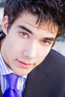 Free Young Businessman Portrait Stock Photos - 4739283