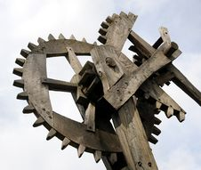Free Old Gear Wheel Stock Photography - 4739322