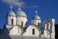 Free Domes Of The Church Stock Image - 4739401