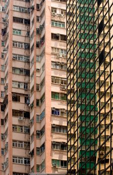 Hong Kong High Rise Living Stock Image