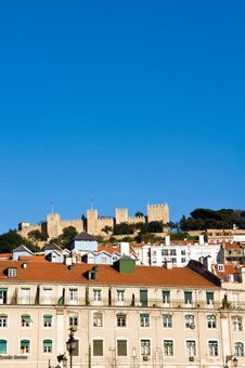 Free The Castelo De Sao Jorge Royalty Free Stock Image - 4739686