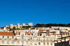 Free The Castelo De Sao Jorge Stock Photo - 4739710