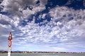 Free Sky Cloud On The Beach Of Rimini Stock Image - 47334561