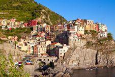 Free Cinque Terre. Manarola Royalty Free Stock Photo - 47334495