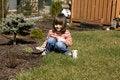 Free Child Gardener Royalty Free Stock Photo - 4741165