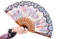 Free Fan In Hand Royalty Free Stock Photos - 4741258