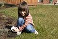 Free Child Gardener Royalty Free Stock Photo - 4741315