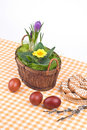 Free Easter Still-life With Eggs Stock Images - 4741354