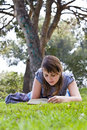 Free Young Woman Reading A Book Stock Photography - 4741592
