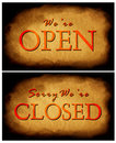 Free Closed & Open Tag Royalty Free Stock Photography - 4742607